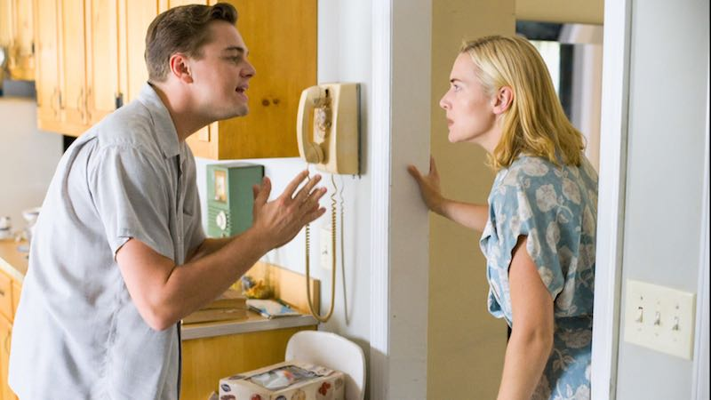 Leonardo DiCaprio and Kate Winslet in Revolutionary Road (2008)