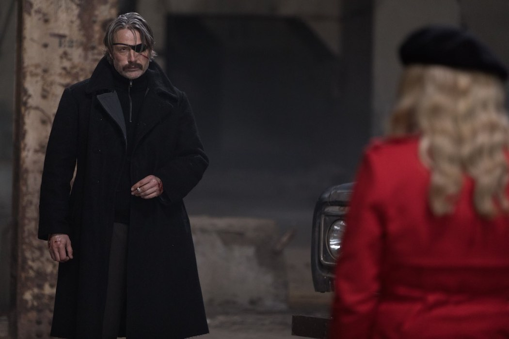 Mads Mikkelsen in Polar (2019). Netflix.