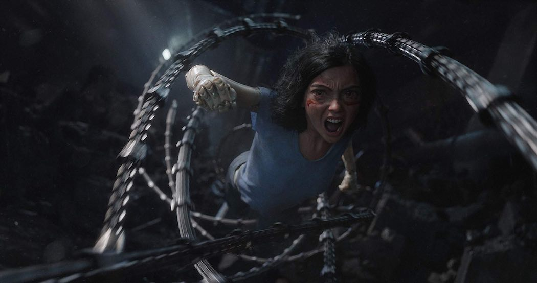 Rosa Salazar in Alita- Battle Angel (2019)