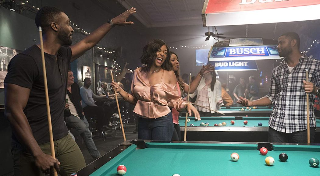 Taraji P. Henson and Aldis Hodge in What Men Want (2019)