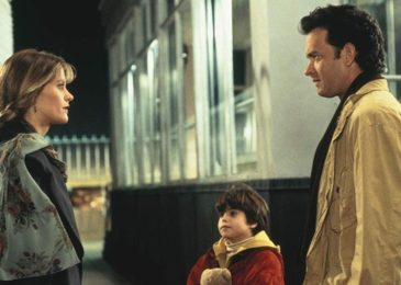 Tom Hanks, Meg Ryan, and Ross Malinger in Sleepless in Seattle (1993)