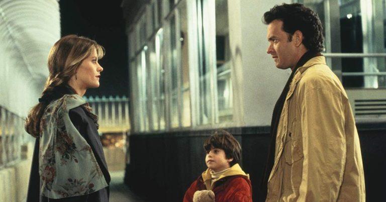 Tom Hanks, Meg Ryan, and Ross Malinger in Sleepless in Seattle (1993)