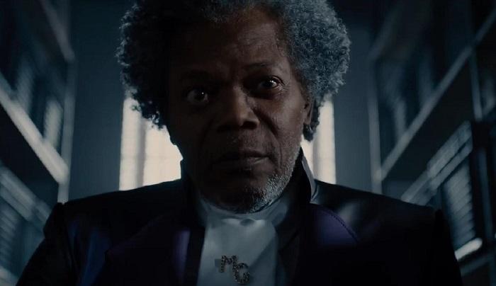 Samuel L. Jackson in 'Glass,' courtesy Blumhouse Productions/Universal Pictures/Walt Disney Pictures.
