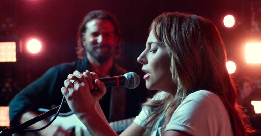 Bradley Cooper and Lady Gaga in Best Picture Nominee A Star Is Born