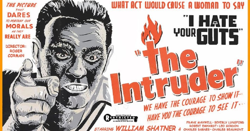 Roger Corman The Intruder Poster