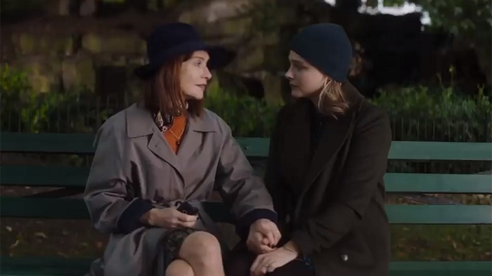 Isabelle Huppert and Chloë Grace Moretz in Greta, photo courtesy Focus Features.