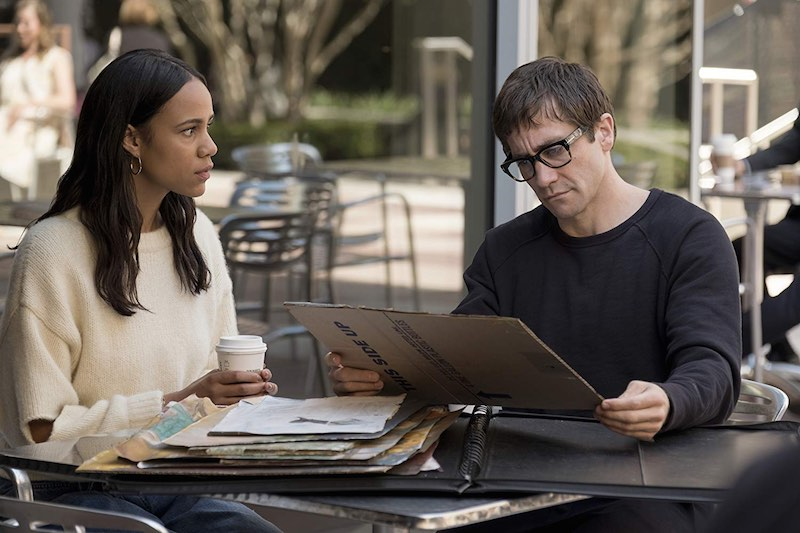Jake Gyllenhaal and Zawe Ashton in Velvet Buzzsaw (2019)