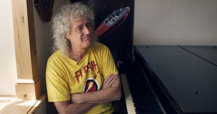 Brian May in Life After Flash, courtesy Spare Change Films.