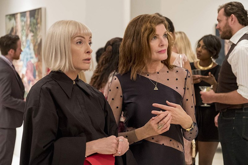 Rene Russo and Toni Collette in Velvet Buzzsaw (2019)