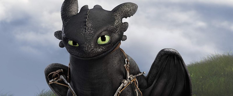 Toothless in How to Train Your Dragon 2 (2014)