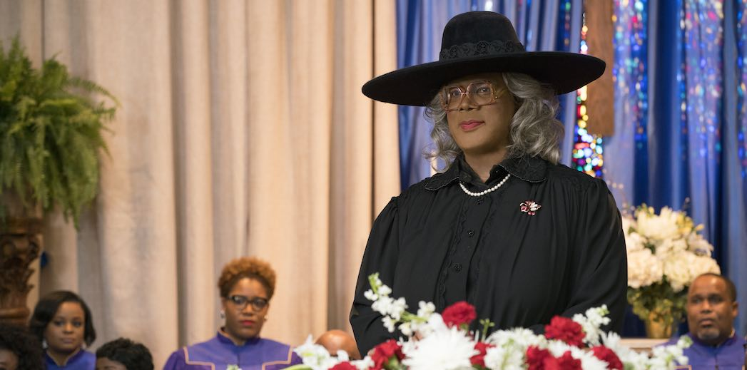 Tyler Perry stars as 'Madea' in A MADEA FAMILY FUNERAL. Photo by: Chip Bergman.