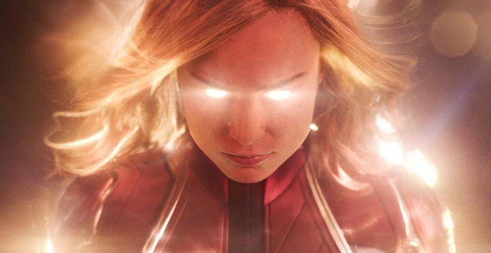 Brie Larson in Captain Marvel, image courtesy Marvel Studios/Walt Disney Pictures.