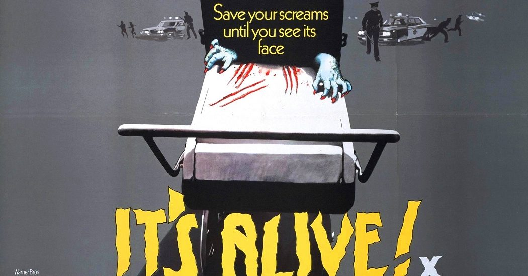 Larry Cohen's Its Alive Poster