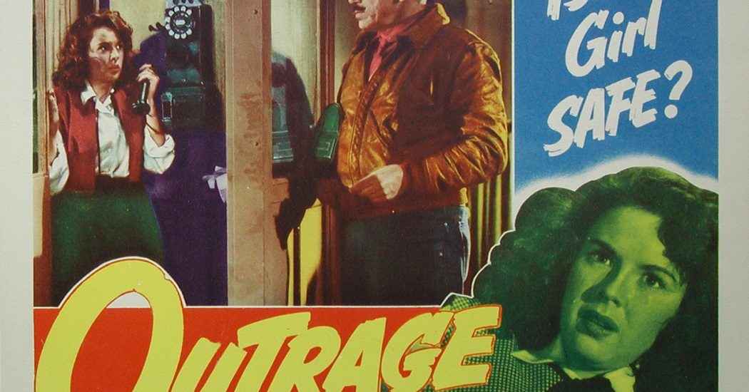 Ida Lupino's Outrage Poster