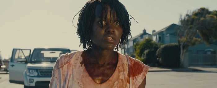 Lupita Nyong'o in Us, courtesy Monkeypaw Productions/Universal Pictures.