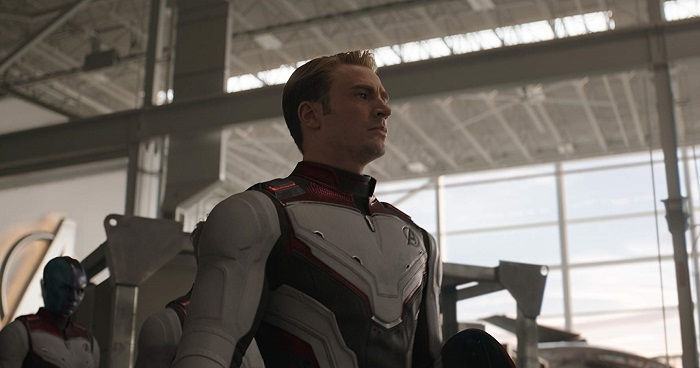 Chris Evans in Avengers: Endgame, courtesy Marvel Studios/Walt Disney Studios Motion Pictures.
