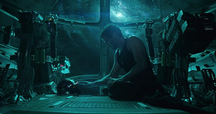 Robert Downey Jr in Avengers: Endgame, courtesy Marvel Studios/Walt Disney Studios Motion Pictures.