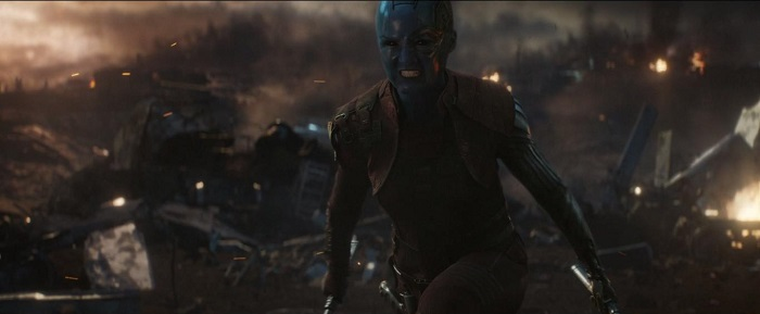 Karen Gillan in Avengers: Endgame, courtesy Marvel Studios/Walt Disney Studios Motion Pictures.