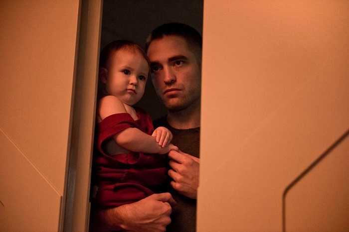 Robert Pattinson and Scarlett Lindsey in 'High Life,' courtesy A24/PANDORA FILM PRODUCTION/ALCATRAZ FILMS/THE APOCALYPSE FILMS,/ANDREW LAUREN PRODUCTIONS/MADANTS SP. Photo: Martin Valentin Menke.