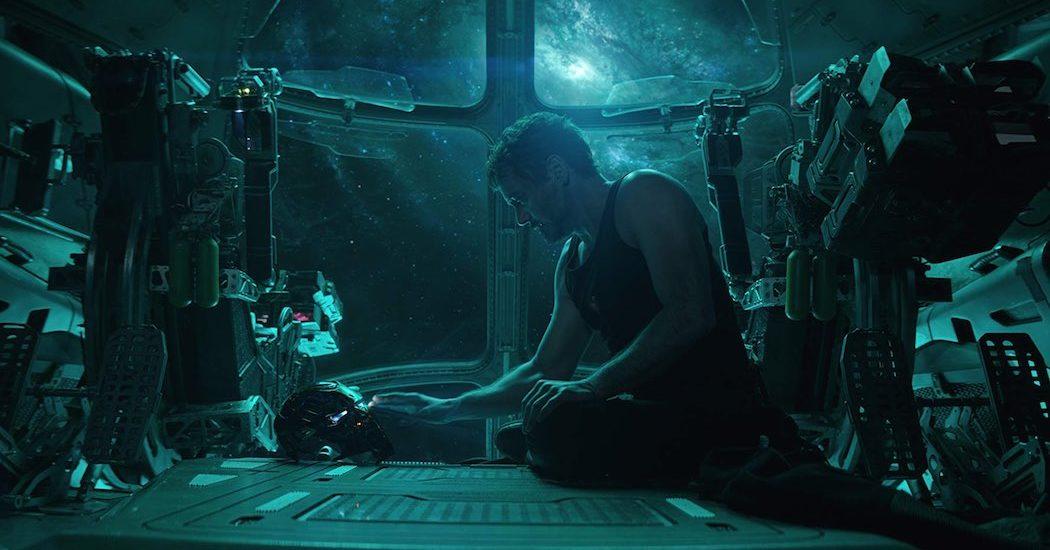 Robert Downey Jr. as Tony Stark in Avengers Endgame (2019)