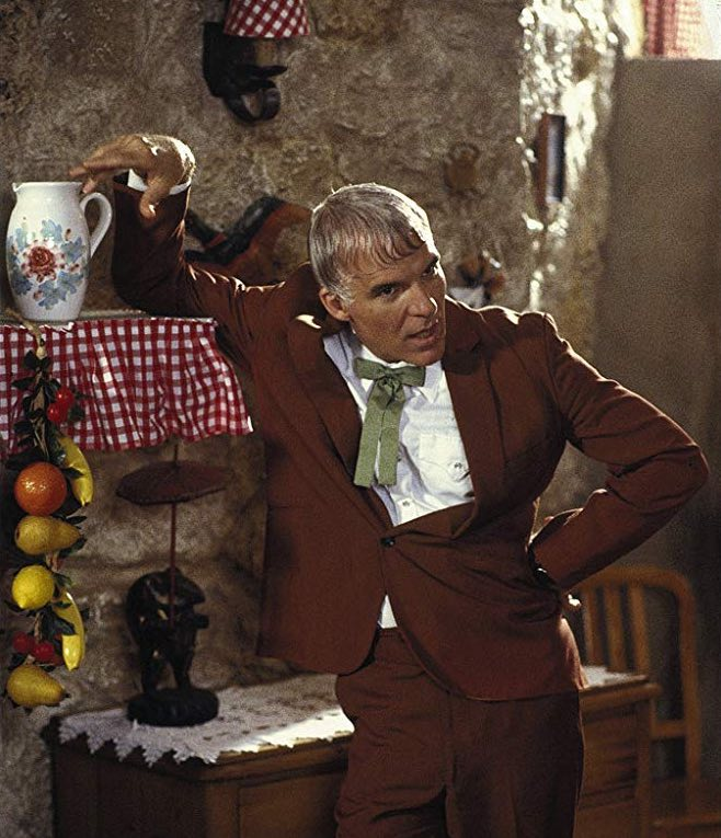 Steve Martin as Ruprecht in Dirty Rotten Scoundrels (1988)