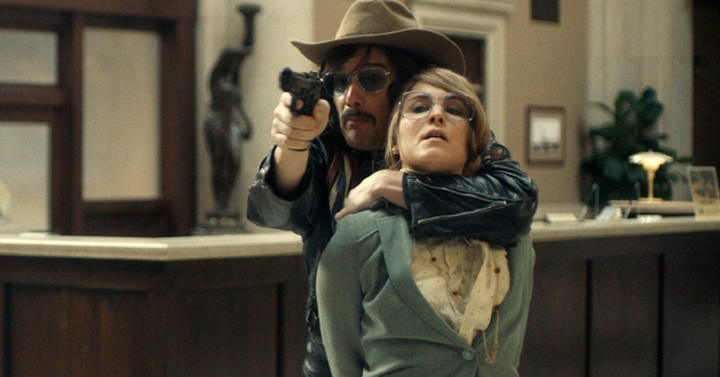 Ethan Hawke and Noomi Rapace star in Stockholm