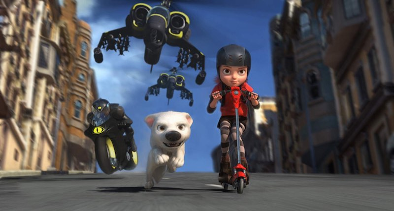 A scene from Bolt.