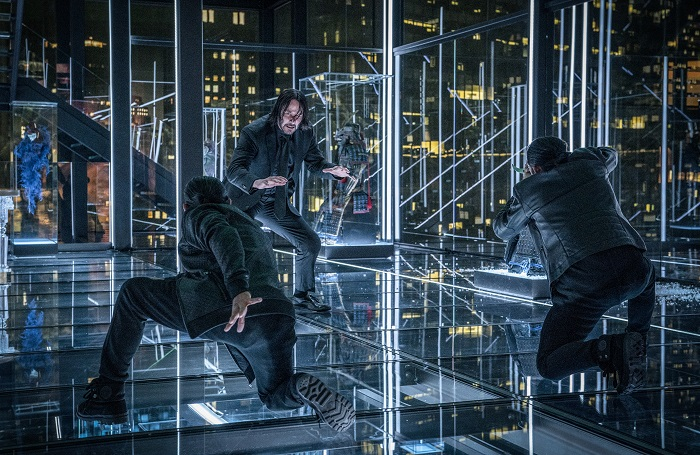 Keanu Reeves stars as 'John Wick' in JOHN WICK: CHAPTER 3 – PARABELLUM. Photo by: Niko Tavernise.
