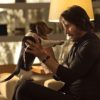 Keanu Reeves and Daisy in John Wick