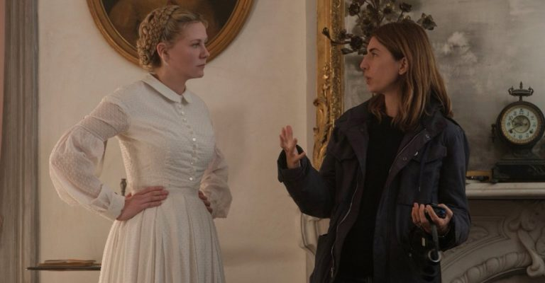 Kirsten Dunst and Sofia Coppola in The Beguiled (2017)
