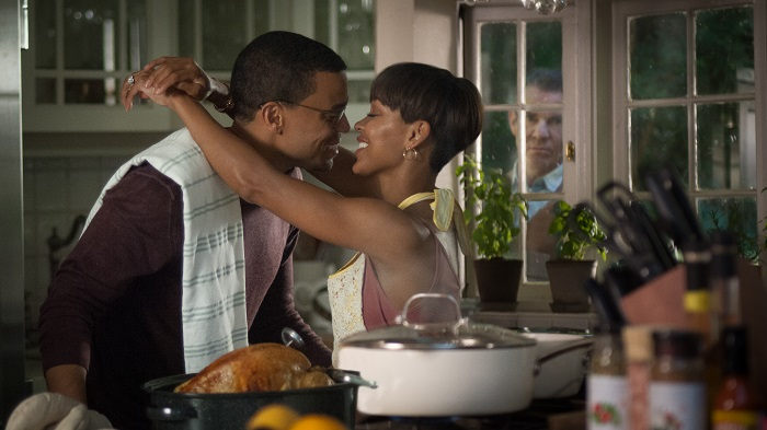Meagan Good, Michael Ealy, and Dennis Quaid star in Screen Gems' THE INTRUDER. Credit: Serguei Baschlakov, CTMG Inc. All Rights Reserved. ALL IMAGES PROPERTY OF SONY PICTURES ENTERTAINMENT INC.