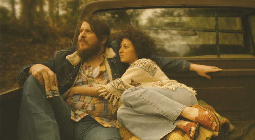 Benjamin Dickey and Alia Shawkat appear in 'Blaze.'